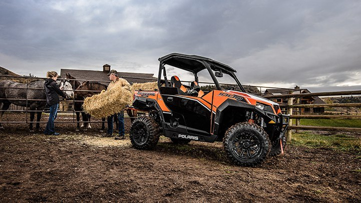 Обзор квадроцикла 2017 Polaris General Deluxe