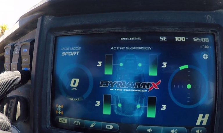 Polaris RZR XP Turbo Dynamix Edition: первый Side-by-Side с активной подвеской