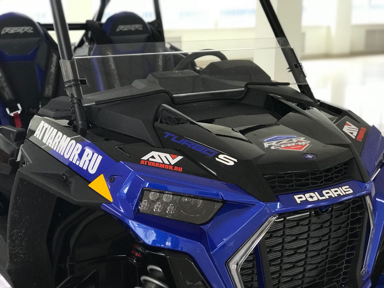 "Проект ""POLARIS RZR TURBO S""!"