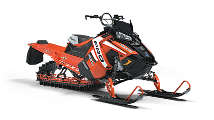 polaris 163 pro rmk orange