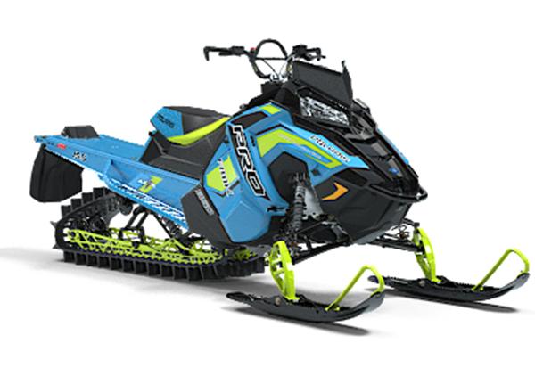2019 Polaris 850 Pro-RMK 155 3'' (Blue-Yellow)