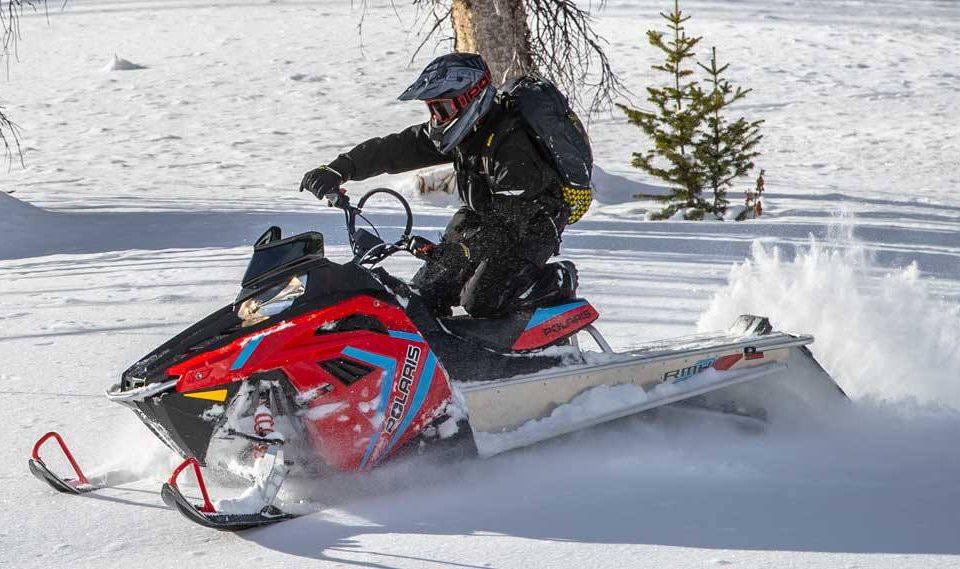 Лучший снегоход для новичков — Polaris RMK Evo 2020
