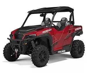 2020 Polaris General 1000 Deluxe Sunset Red