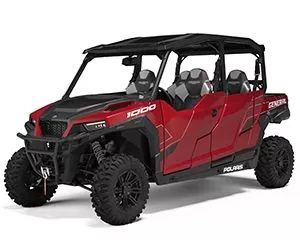2020 Polaris General 4 1000 Deluxe Sunset Red