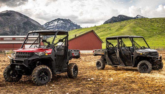 Обзор идеальных рабочих квадроциклов: Polaris Ranger 1000 и Ranger Crew 1000 версии 2020