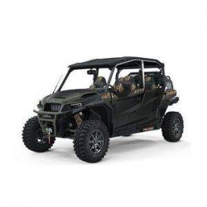 2021 General XP 4 1000 Hunt LE Stealth Black