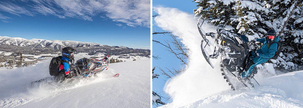 Что нового получат снегоходы Polaris в 2021