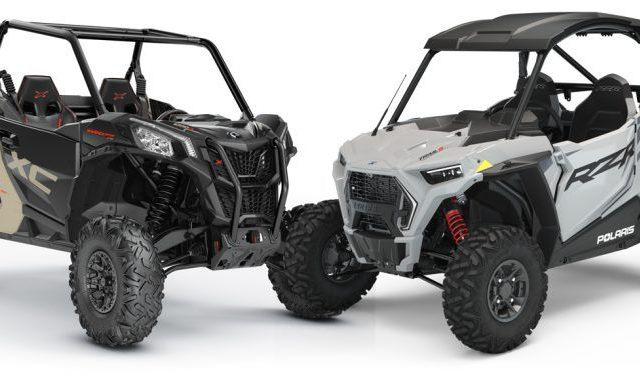 Сравнение спортивных квадроциклов Polaris RZR Trail S Ultimate и Can-Am Maverick Sport X XC 1000R