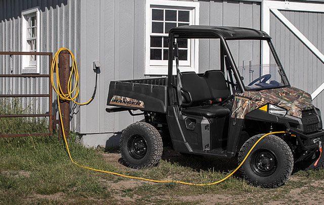 Polaris выпустит электровездеход Ranger, разработанный совместно с Zero Motorcycles